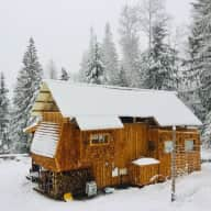Cozy cabin, dogs & cats in Canada's coolest ski town (dates flexible - about 3 weeks in Jan/Feb/March)