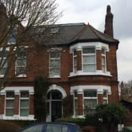 Lovely Edwardian house with garden and Eddie the dog in South London