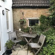 Cotswold cottage or west London house with GracieGirl