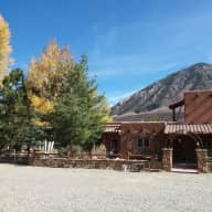Crawford, Colorado 12 acre mini-ranch, beautiful adobe home at base of W.Elks Mountains