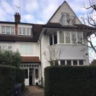 North London semi-detached house