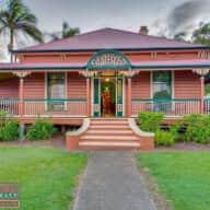 A waterfront heritage listed Queenslander in a Brisbane winter