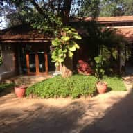 Luxury Villa & orchard on a river island opposite historical Old Goa