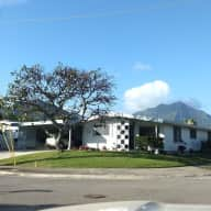 Kailua windward Oahu, 1 mile from beach, 9 from Honolulu