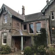 Beautiful peaceful Scotland! Large house and garden with two gorgeous dogs!