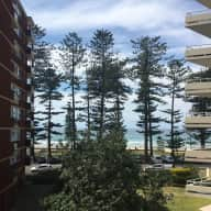 Housesit 1 happy cuddly cavoodle (5 years old) Manly Beach - Modern Apt Building - Sea Views - 30 sec walk to beach