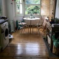 Victorian flat with garden
