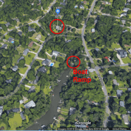 Wilmington, NC Coastal Neighborhood - 3 BR/3BA (two dogs, one cat)