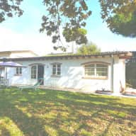 Beautiful little house with big garden in Viareggio needs sitter for our lovely Galgos