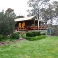 House on 3 acres in the bush 1 hour from Melbourne