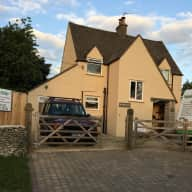 Detached 4 bed House in semi-rural location in the Cotswolds, with beloved Staffie Dog and 7 chickens