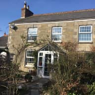 Lovely five bedroomed 1850s stone house 15 minutes' walk from the beach. St Agnes, Cornwall.