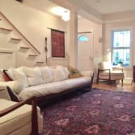 Hang out with our Pup in Charming Rowhouse in the Heart of DC