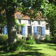 Normandy, comfy farmhouse sitting for Fred the cat