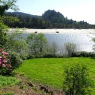 Oregon Coast- Sweet dog in a Peaceful, Private Setting
