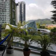 Singapore: 1 pug and a 3 bedroom condo in Dairy Farm-Bukit Panjang area of the island