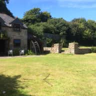 Do you fancy staying in an old mill with a stream and wonderful garden with our precious pets?