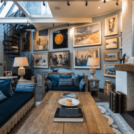 Beautiful London Home with Two Irish Terriers