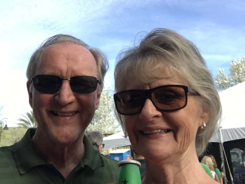 Cathi & Jim from El Dorado Hills, California, United States