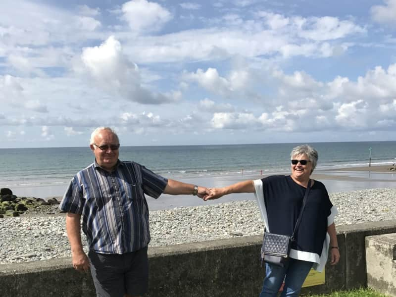 Susan & Dave price from Cannock, United Kingdom