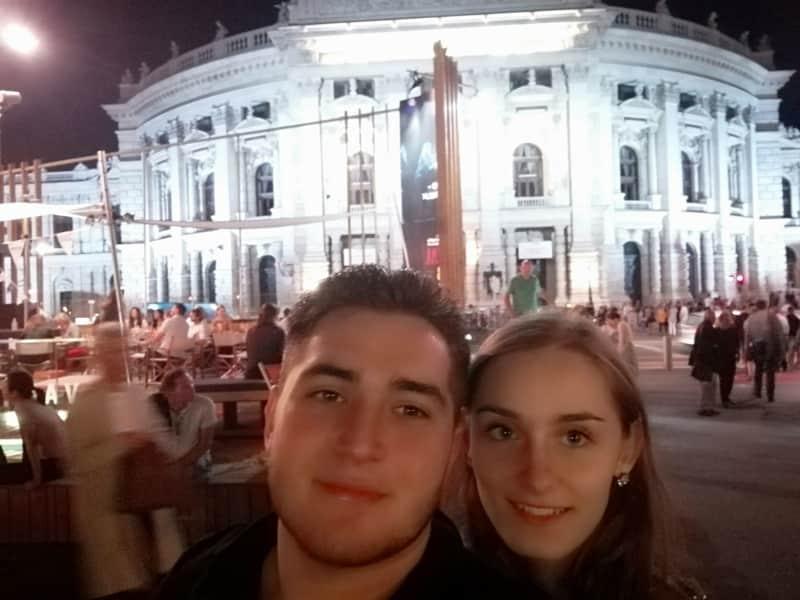 Bamdad & Helena from Graz, Austria