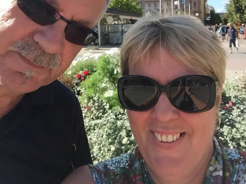 Helen & Carl from Hudiksvall, Sweden