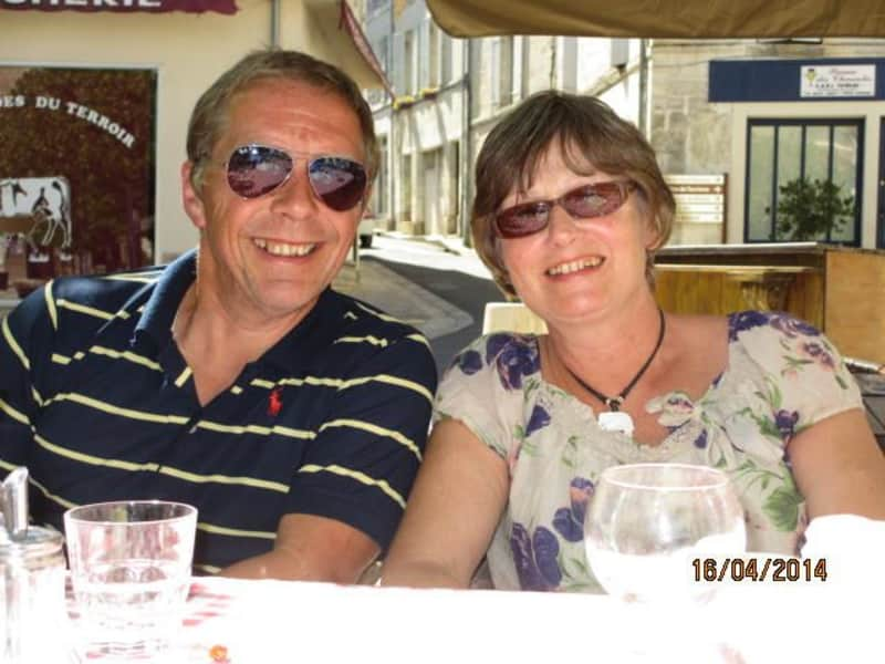Geoff and jenny & Geoff from Vars, France