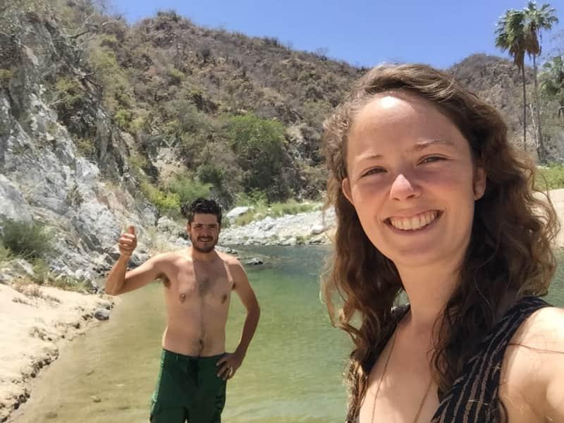 Aleksiina & Allan from Todos Santos, Mexico