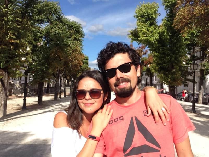Mauricio & Camila from Aubevoye, France