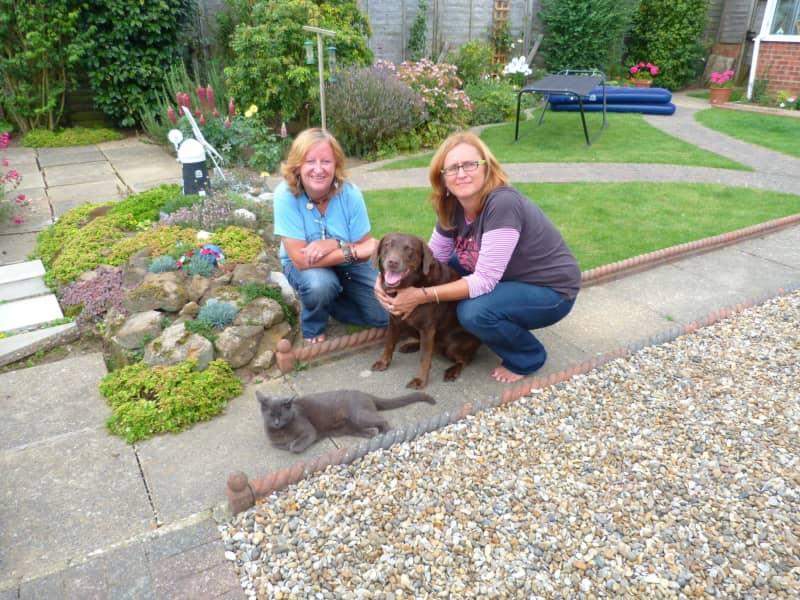 Sue & Teresa from Brighton, United Kingdom