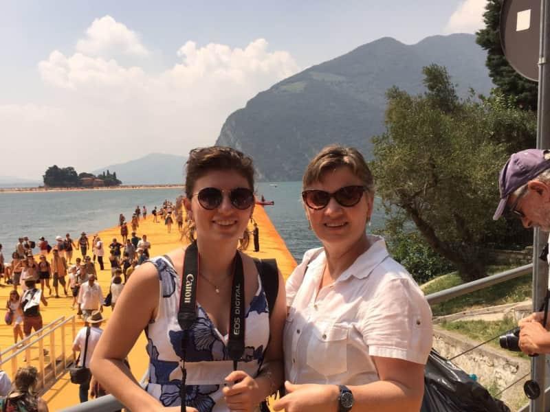 Felicity & Chloe from Milano, Italy