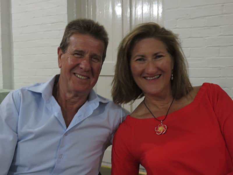 Fran & Pete from North Wollongong, New South Wales, Australia
