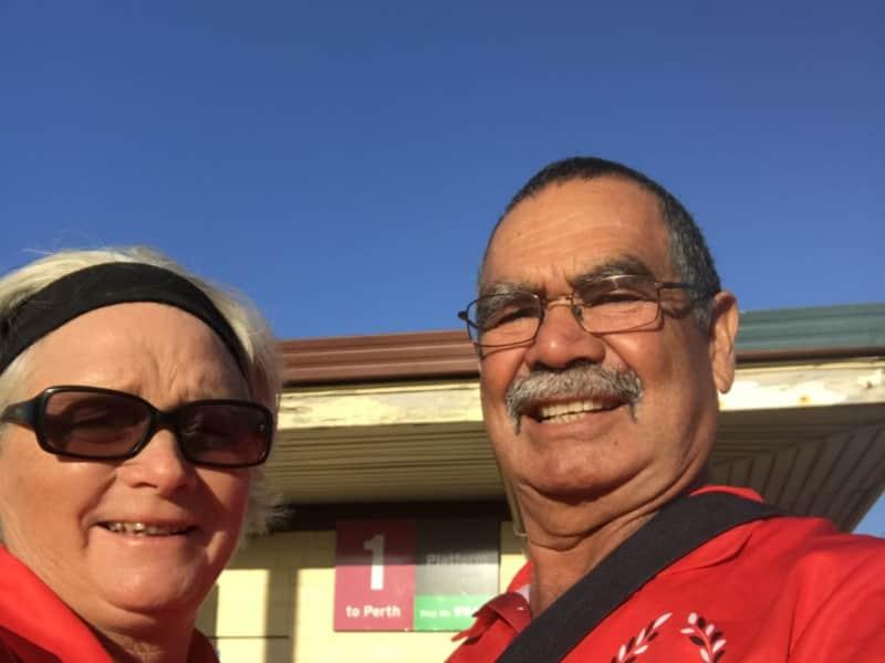 Sally & Keith from Denham, Western Australia, Australia