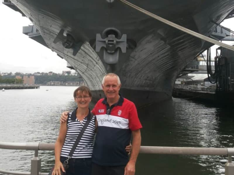 Carol & Anthony from Heathfield, United Kingdom