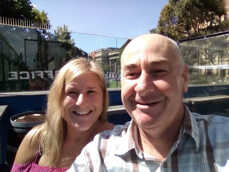 Lisa & Shaun from Paihia, New Zealand