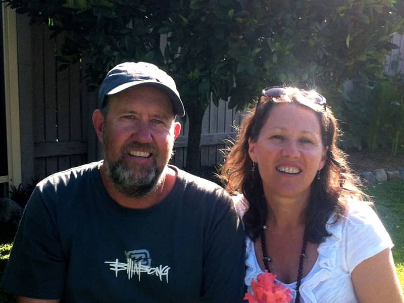 Diane & Jim from Point Lonsdale, Victoria, Australia