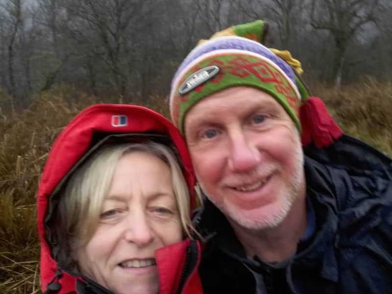 Kevan & Mary from Ambert, France