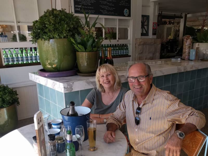 Sally & Michael from Wollongong, New South Wales, Australia