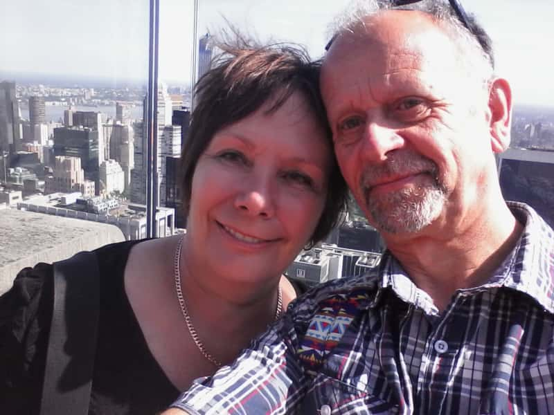 Denise & Ernst from Fairlie, New Zealand