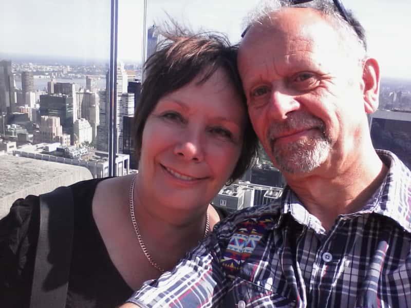 Denise & Ernst from Fairlie, New Zealand