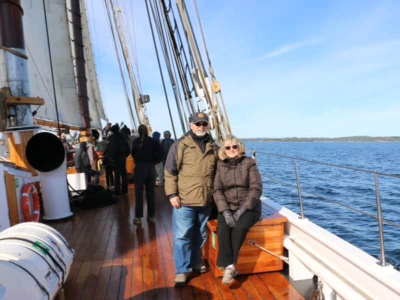 Jan & Allan from Timmins, Ontario, Canada