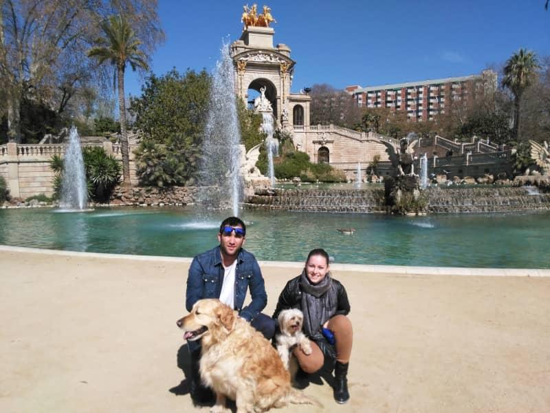 Hana & Victor from Barcelona, Spain