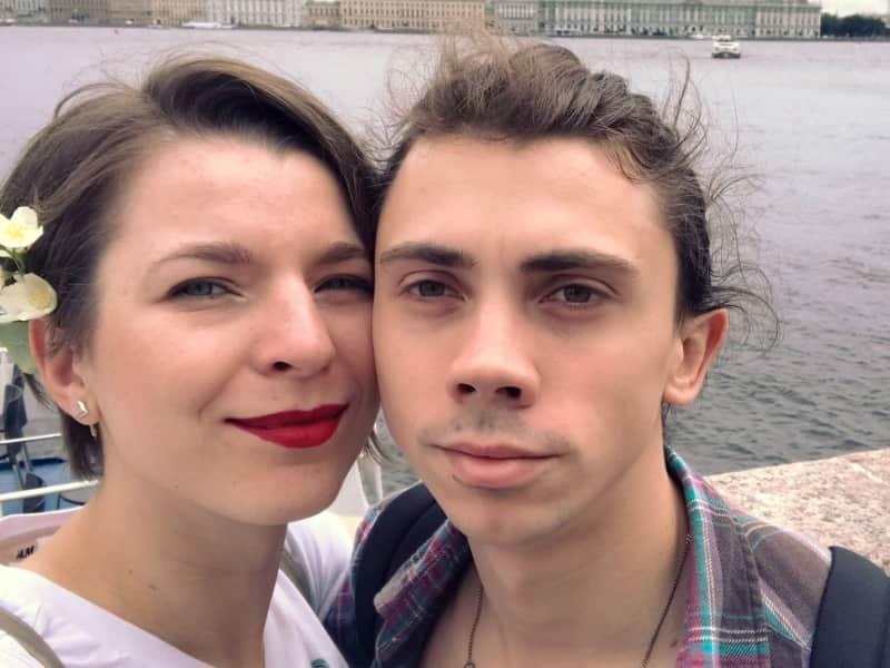 Oksana & Yevhen from Aalborg, Denmark
