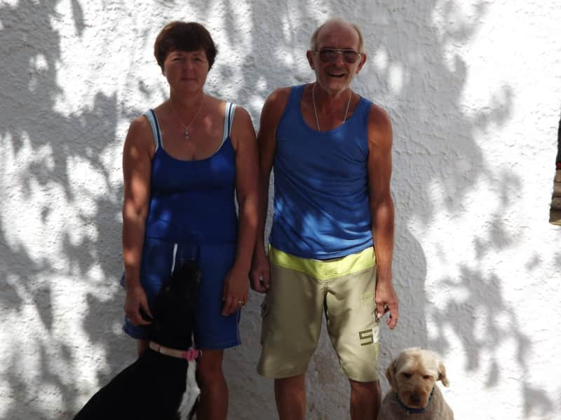 Chris & Lynne from La Romana, Spain