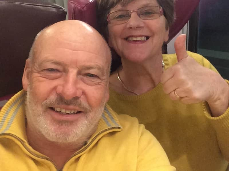 Dawn & Clive from Weston-super-Mare, United Kingdom
