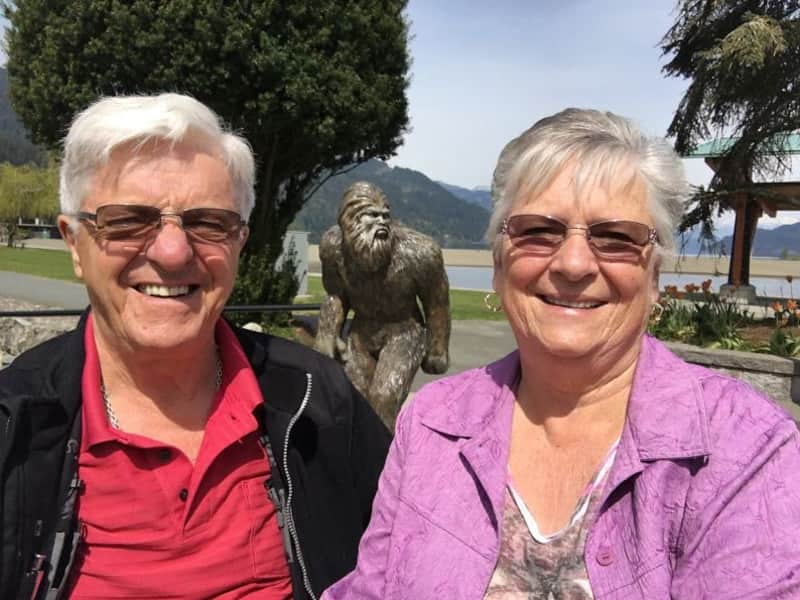 Sharone & Stefan from Cranbrook, British Columbia, Canada