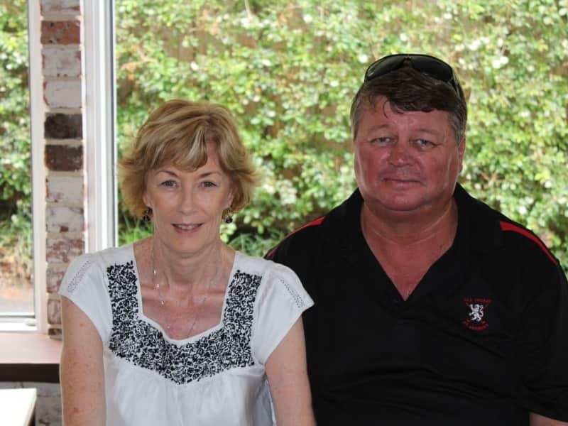 Janelle & Dennis from Townsville, Queensland, Australia