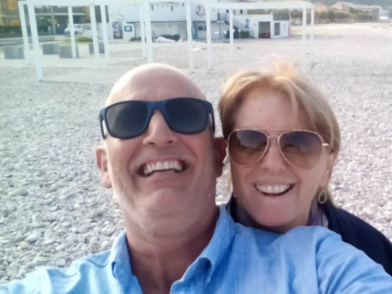Graeme & Jen from Palma, Spain