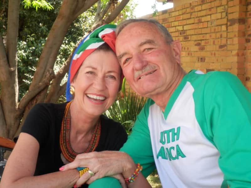 Rosemary & Neil from Johannesburg, South Africa