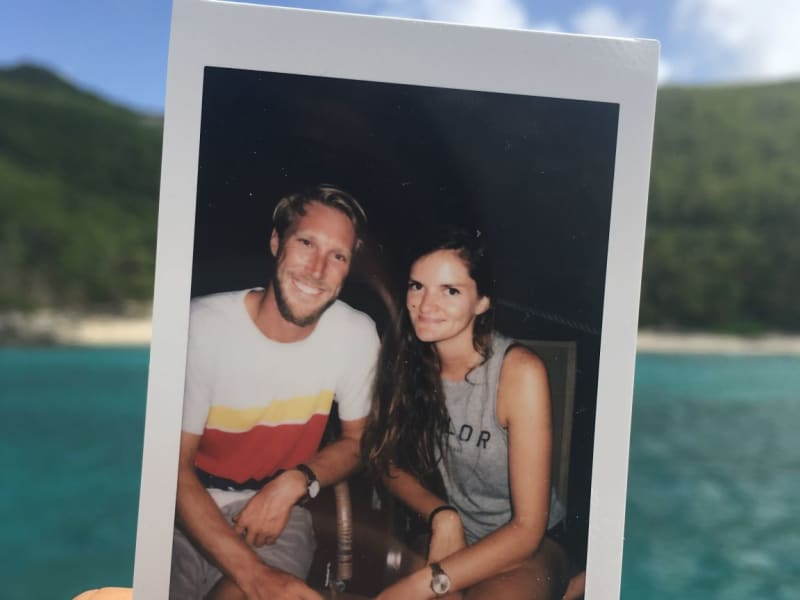 Chelsea & Barclay from Road Town, British Virgin Islands